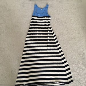 Old Navy Striped Maxi Dress